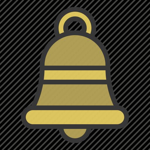 alarm, bell, christmas, ringing, xmas icon