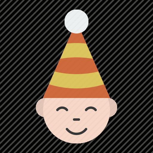 avatar, christmas, face, happy, merry icon