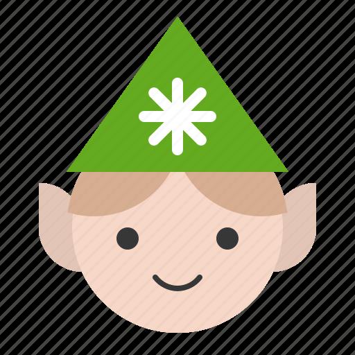 avatar, christmas, elf, fairy tale, merry, xmas icon