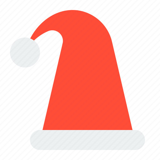 chirstmas hat, christmas, hat, merry, santa hat, xmas icon