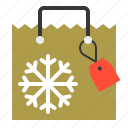 bag, christmas, gift, gift bag, merry, shopping, xmas icon