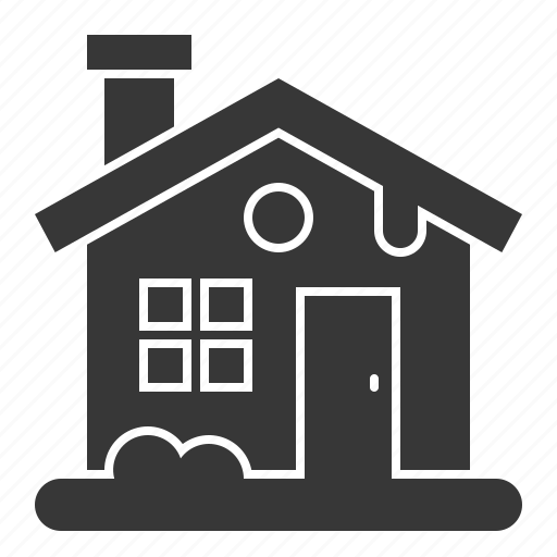 christmas, cottage, home, house, xmas icon