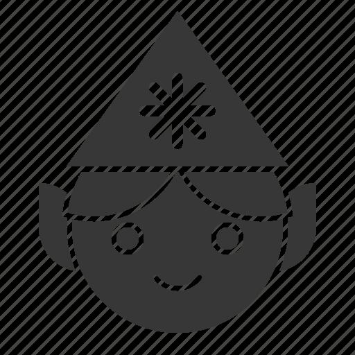 avatar, christmas, elf, fairy tale, xmas icon