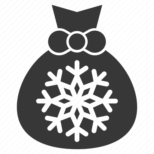 Christmas, gift, gift bag, gift sack, xmas icon - Download on Iconfinder