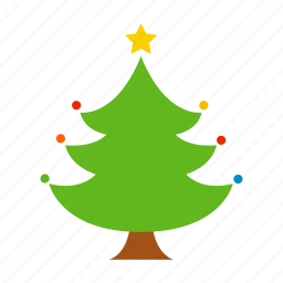 christmas, decoration, holiday, merry christmas, santa, tree, xmas icon
