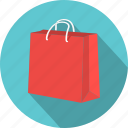 bag, handbag, paper, purchase, sale, shop, shopping icon
