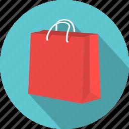 bag, handbag, paper, purchase, sale, shop, shopping icon