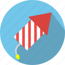 carnival, chinese, cracker, fire, firecracker, rocket, skyrocket icon
