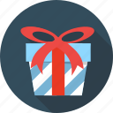 birthday, box, gift, giftbox, package, ribbon, souvenir icon