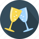 alcohol, beverage, cocktail, drink, glass, party, wine icon
