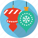 ball, christmas, decoration, globes, ornament, snowflake, winter icon