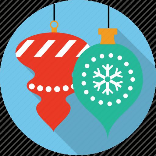 ball, christmas, decoration, globes, ornament, snowflake, winter icon
