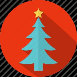 christmas, circle, decoration, holiday, tradition, tree, xmas icon