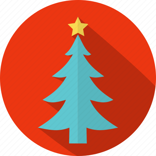 christmas, circle, decoration, holiday, tradition, tree, xmas icon