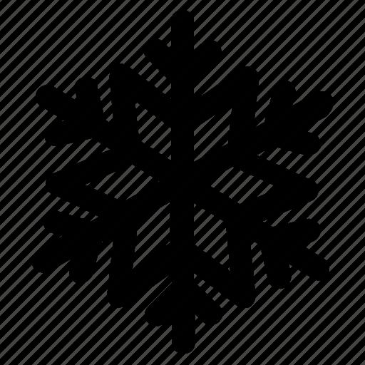 christmas, ice, snow, winter icon