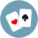 cards, deck, divination, fun, gambling, games, poker, activity