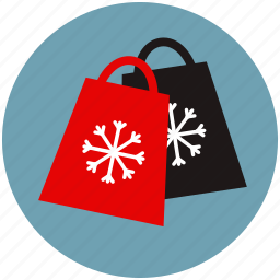 bags, charity, christmas, deals, sale, shopping, winter icon