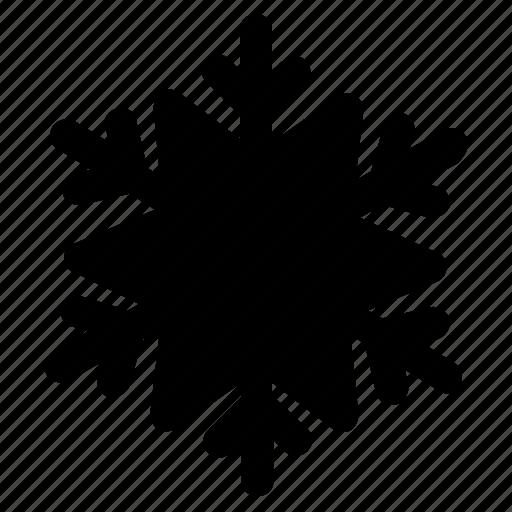 christmas, crismas, snow, solid, winter icon