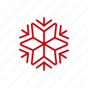 christmas, cloud, decoration, snow, snowflake, weather, xmas icon