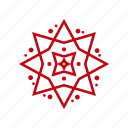 christmas, decoration, santa, snow, snowflake, weather, xmas icon