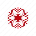 christmas, cloud, snow, snowflake, weather, xmas icon