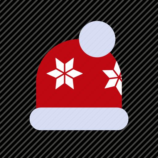 bonnet, christmas, new, santa, snow, xmas, year icon