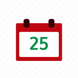calendar, celebration, christmas, date, day, event, snow icon