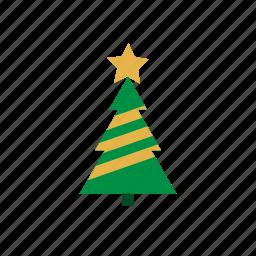 christmas, plant, snow, snowflake, tree, winter, xmas icon