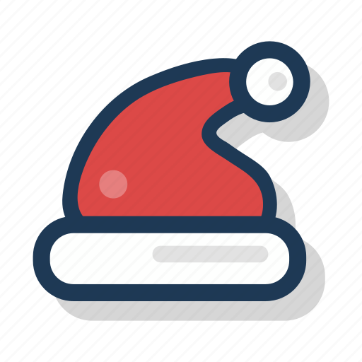 cap, christmas, claus, festive, holiday, santa, season icon