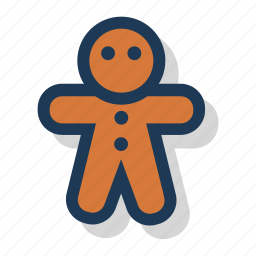 christmas, cookie, festive, gingerbread, holiday, season, xmas icon