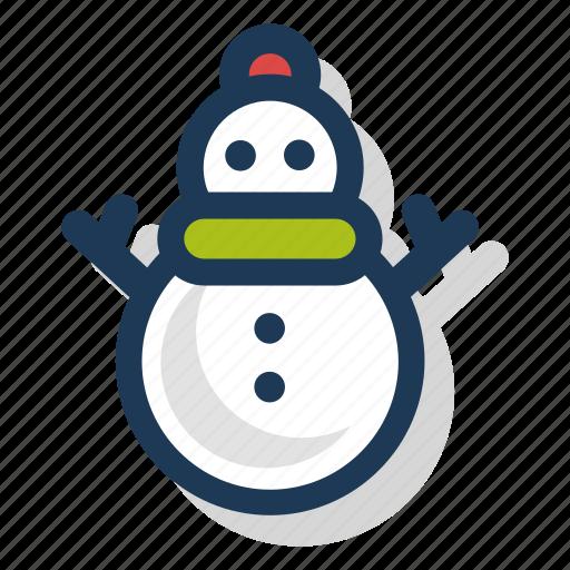 christmas, festive, holiday, season, snowman, winter, xmas icon