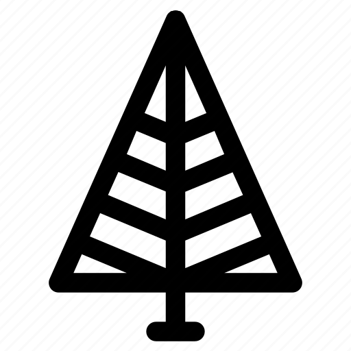 Christmas, spruce, tree, triangle, winter icon - Download on Iconfinder