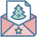 christmas, christmas tree, email, newsletter