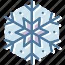 snow, winter, christmas, snowflake