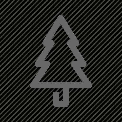 christmas, decorative51, greeting, line, season, tree icon