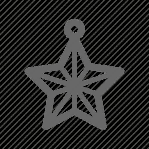 christmas, decorative54, greeting, line, season, tree icon