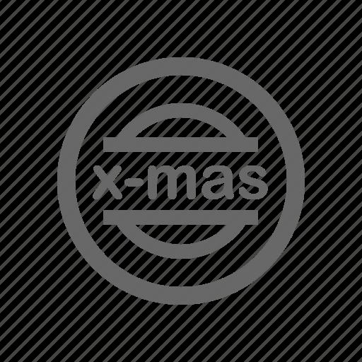 christmas, decorative63, greeting, line, season, tree icon