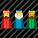 christmas, kings, magi, men, three, wise, xmas