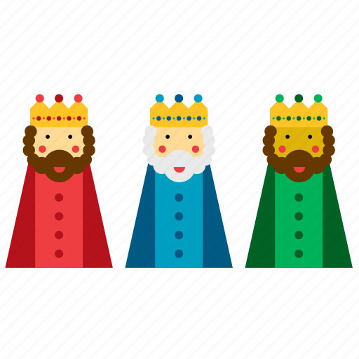 christmas, kings, magi, men, three, wise, xmas icon