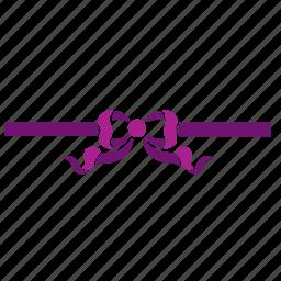 bow, christmas, decoration, gift, ornament, present, ribbon icon