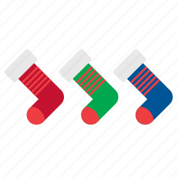 christmas, decor, decoration, ornament, sock, socks, xmas icon