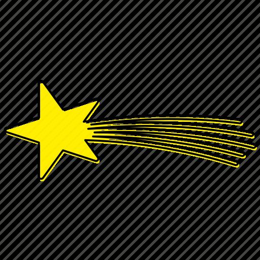 christmas, decoration, eastern, magi, star, tree, yellow icon