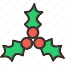christmas, berry, berries, holly, cake, fruit, new year icon