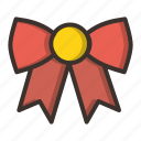 bow, christmas, clothing, xmas icon