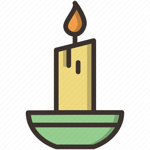 bright, candle, christmas, light, new year, winter icon