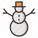 celebration, christmas, decoration, holiday, snow, snowman, winter icon