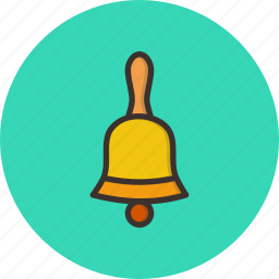 bell, christmas, church, jingle, new year, procession icon