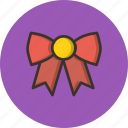 bow, christmas, xmas icon