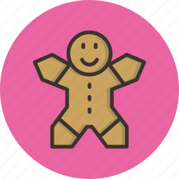 celebration, christmas, cookie, gingerbread, new year icon