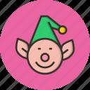 christmas, elf, help, santa, gift, helper